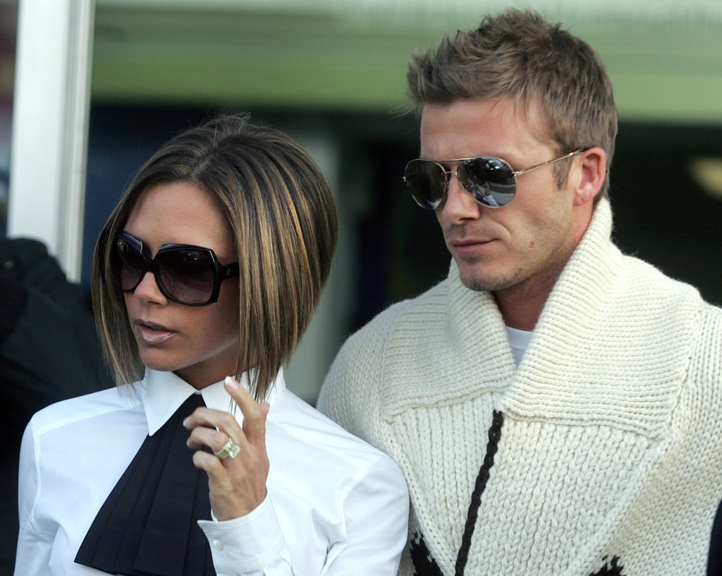 With a Little David Beckham on the Side —in His Own Classic Aviators