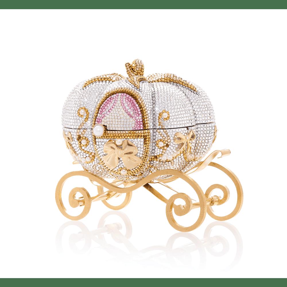 Judith Leiber Pumpkin Cinderella Handbag