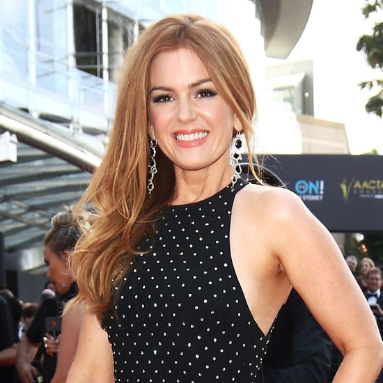 2016 AACTA Awards: Isla Fisher Hair and Makeup
