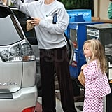 Photos of Ben, Jen and Violet