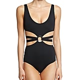 Proenza Schouler Cutout One-Piece Swimsuit