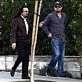 Leo and George took a walk through Beverly Hills together.
