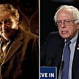 Horace Slughorn / Bernie Sanders, Democrat