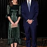 Catherine, Duchess of Cambridge Wears The Vampire's Wife In Ireland