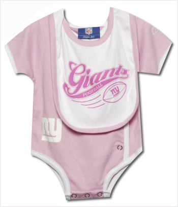 Super Bowl Gear for Baby