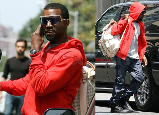 Photos of Kanye West Out in NYC