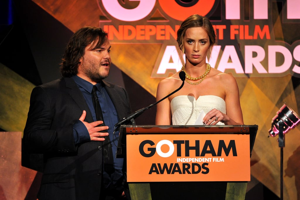 Jack Black and Emily Blunt