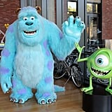 In the Brooklyn building, another set of Sulley and Mike Wazowski statues greet guests.