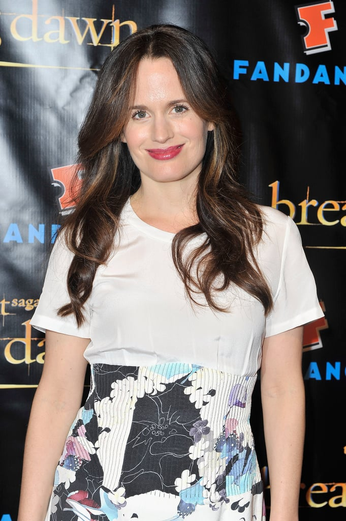 Elizabeth Reaser attended the Breaking Dawn Part 2 party at Comic-Con.