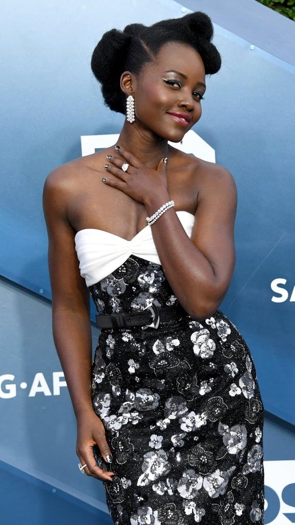 Lupita Nyong'o at the 2020 SAG Awards