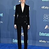 It's another Altuzarra suit for Evan Rachel Wood at the 22nd Critics' Choice Awards.