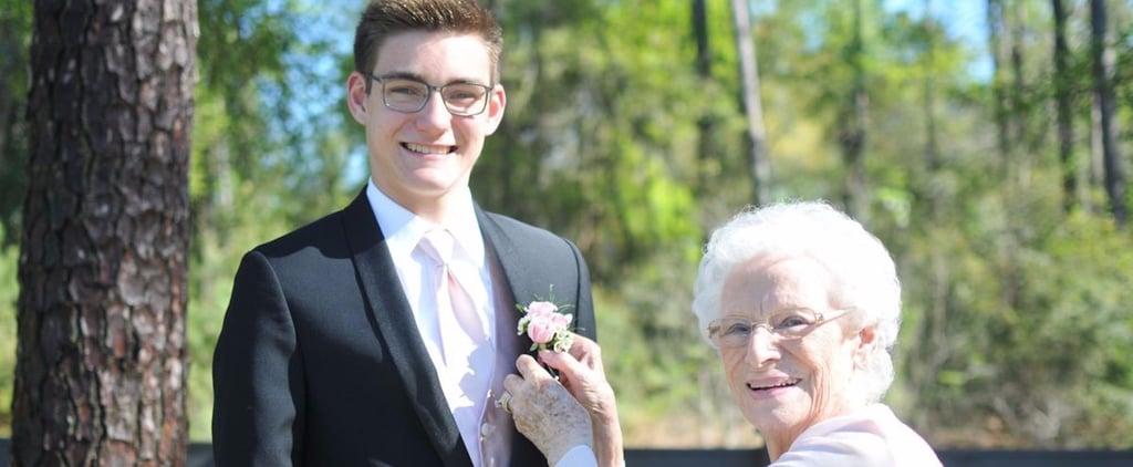 High Schooler Takes Grandma to Prom
