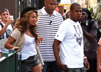 Beyonce and Jay-Z lunch date in Soho,New York