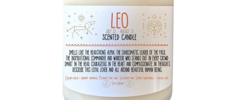 These Zodiac Sign Candles Have Scents Perfect For Each One
