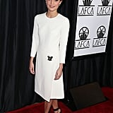 Alicia Vikander at the Los Angeles Film Critics Association Awards