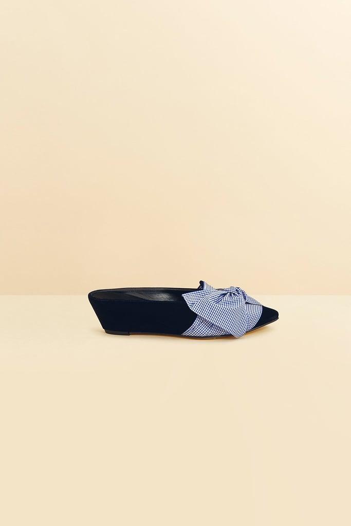 Trademark Velvet Adrien Tie Slide ($648)