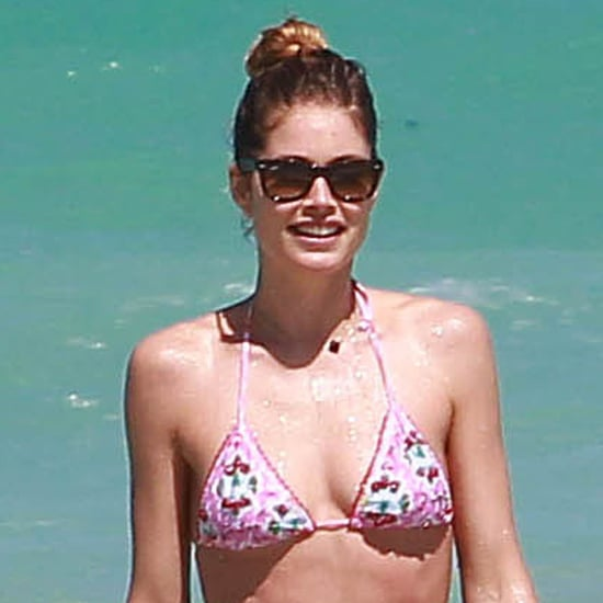 Doutzen Kroes in a Bikini With Sunnery James | Photos
