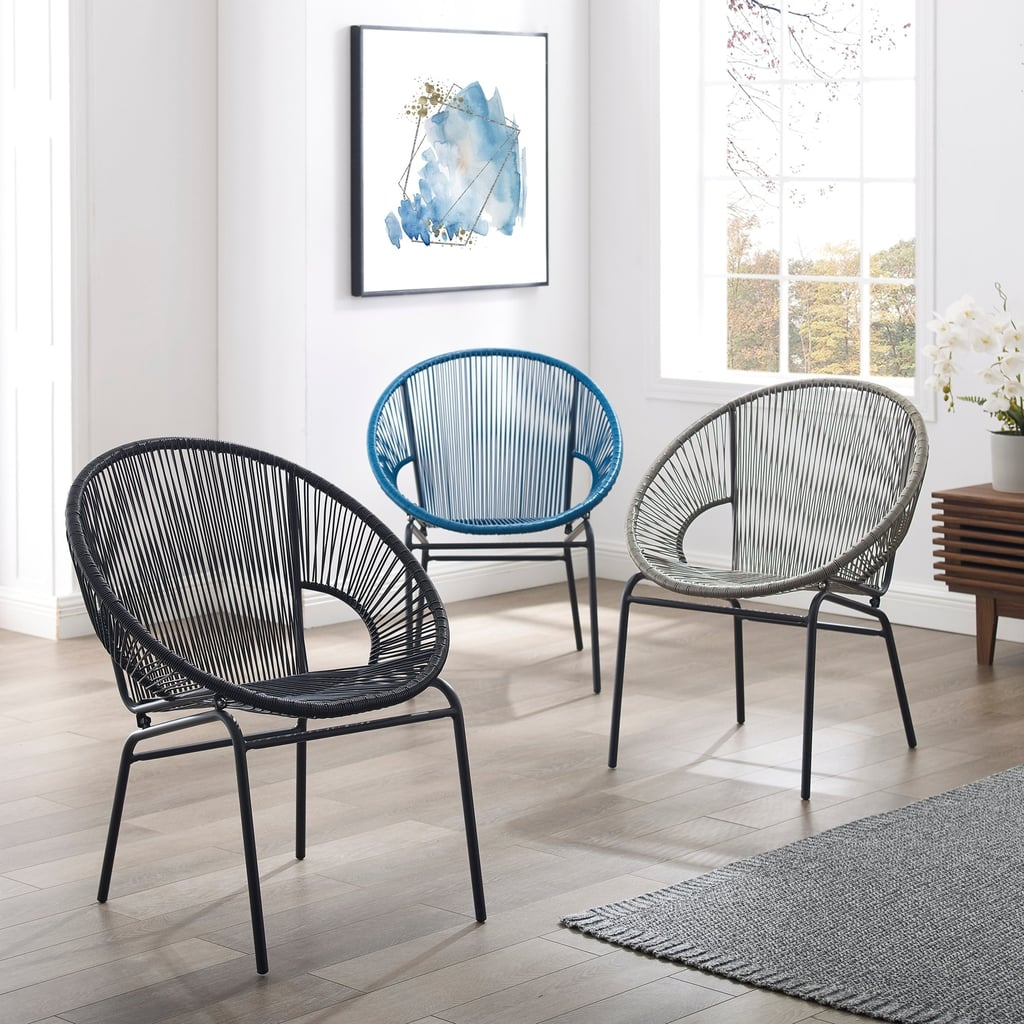 Corvus  Sarcelles Woven Wicker Patio Chairs