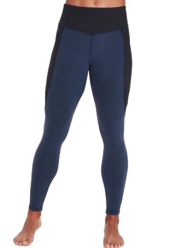 Women's Essentials Heather Zipper Pocket Leggings