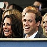 Kate, William, Zara, and Harry