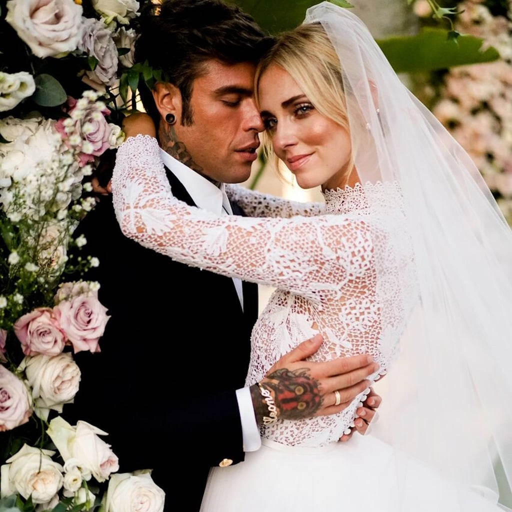c8ab1a59d431 Chiara Ferragni Wedding Dress Pictures