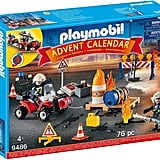 Playmobil Advent Calendar  Construction Site Fire Rescue