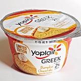 Yoplait Greek Pumpkin Cheesecake