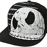 Nightmare Before Christmas Flat Brim Hat