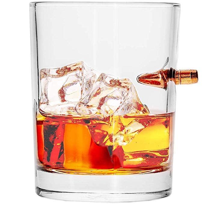 Lucky Shot Whiskey Glass