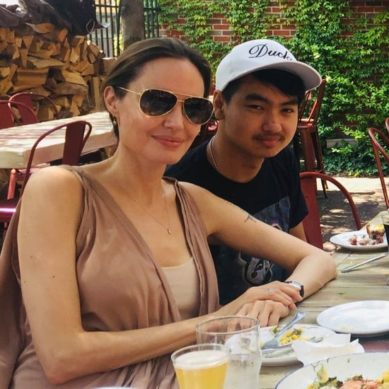 Angelina Jolie and Son Maddox's Birthday Pictures 2019