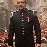 Russell Crowe in Les Misérables.