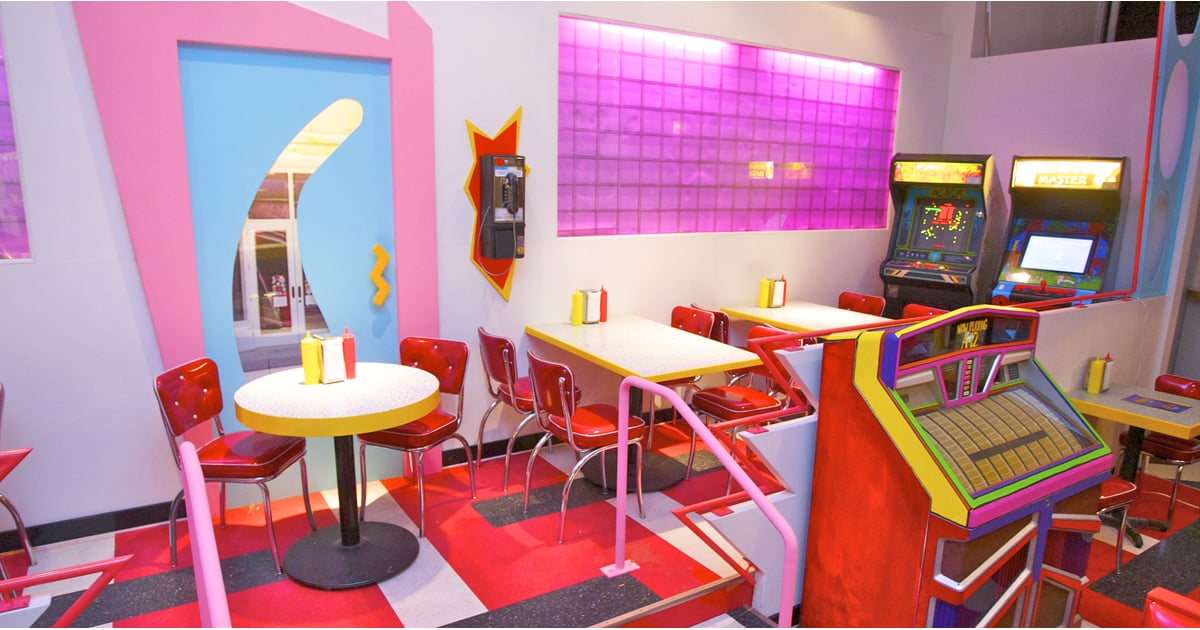 Saved by the Bell Themed Restaurant | POPSUGAR Food