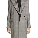 Stella McCartney Houndstooth & Glen Plaid Coat