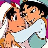 Aladdin and Male Jasmine
