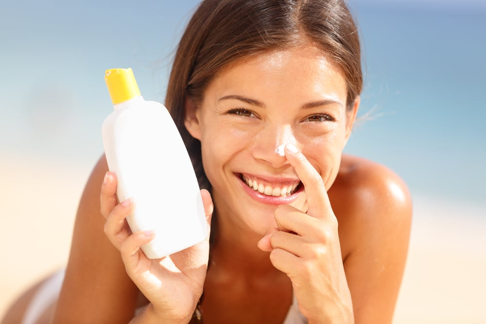 Water-Resistant Sunscreen With a High SPF