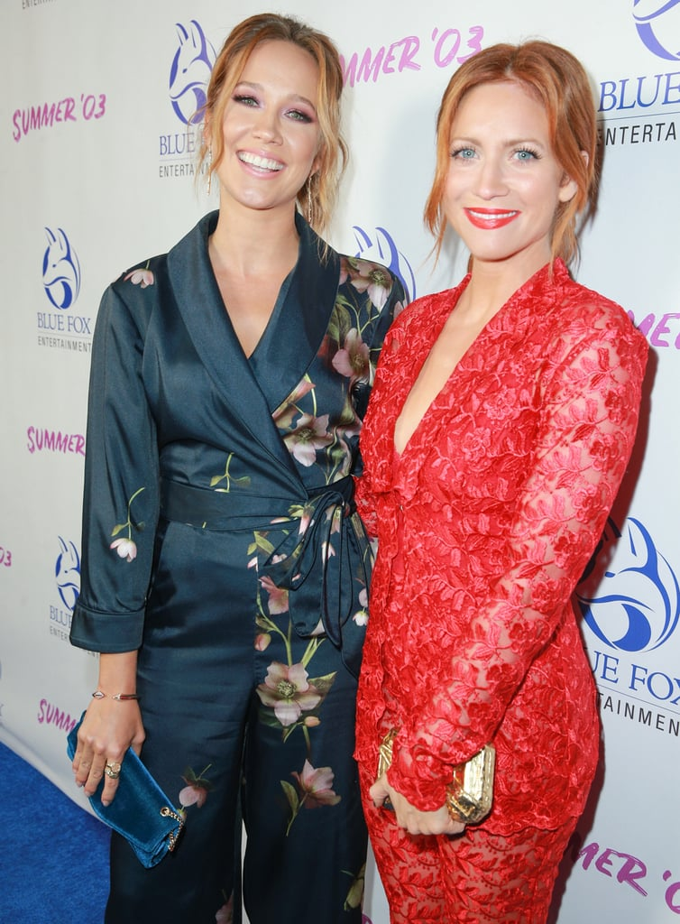 Anna Camp and Brittany Snow