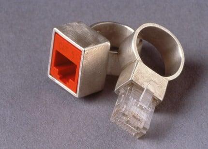 The Geekiest Wedding Rings Ever!