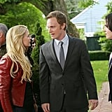 Emma (Jennifer Morrison) and Dr. Whale (David Anders) are at the forefront of the confrontation with Regina (Lana Parrilla).