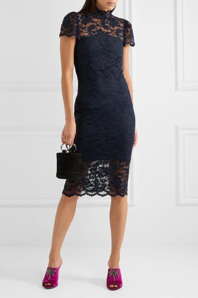 Ganni Flynn Turtleneck Dress