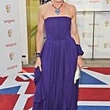Tamsin Greig worked purple to perfection.