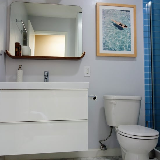 Small bathroom remodel pictures popsugar home for Small bathroom updates