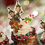 Prep & Landing Gingerbread Cupcakes