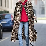 Pair It With Simple Skinny Jeans, Heels, and a Leopard Coat