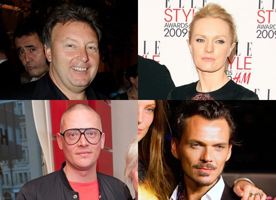Matthew Williamson and Giles Deacon Guest Judges at Graduate Fashion Week 2009