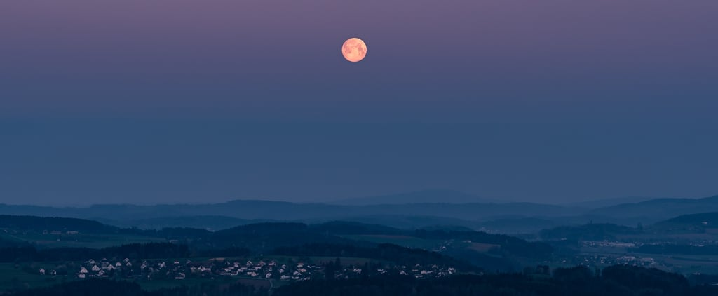 A Super Pink Moon Is Happening Tonight!