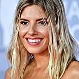 Mollie King's Tiny Loose Plaits at the 2020 BRIT Awards