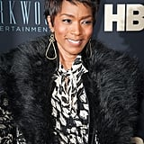 Angela Bassett With a Pixie Cut