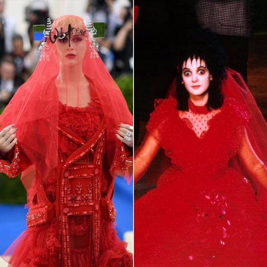 Things Katy Perry Looked Like at Met Gala 2017