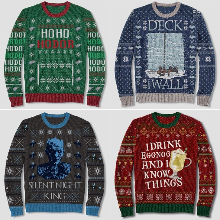 Game of Thrones Ugly Christmas Sweaters at Target 2018