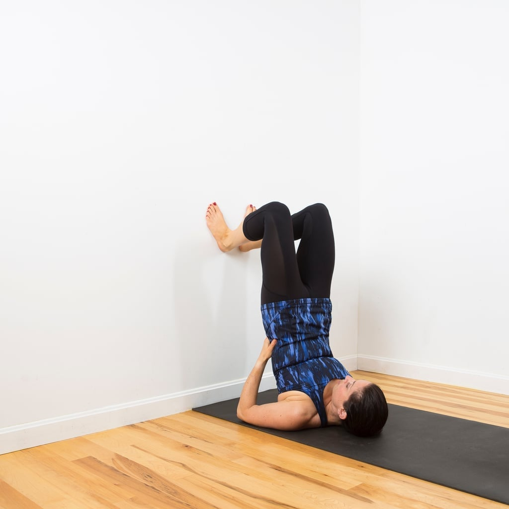 Get Relief From Upper Back and Shoulder Tension With This Relaxing Wall Stretch